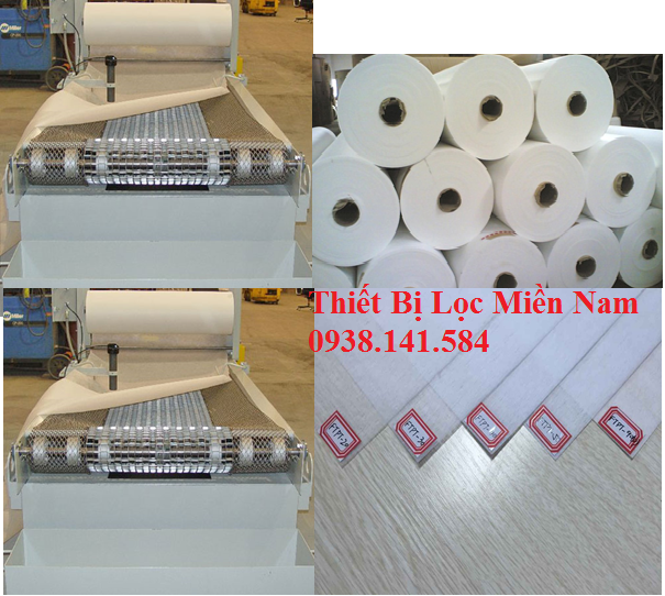 Giấy lọc giải nhiệt (Coolant Filter Paper Roll )