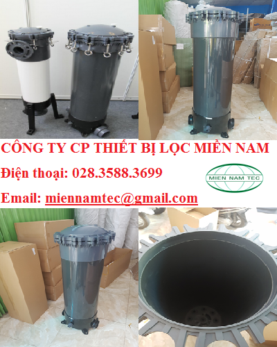 Housing filter cartridege UPVC tại Việt Nam
